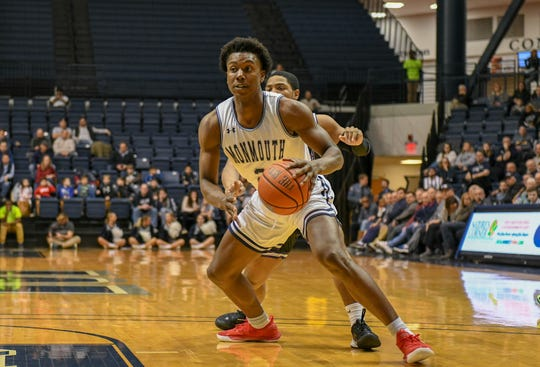 Monmouth junior Melik Martin has been in double figures for three straight games for the first time in his career.
