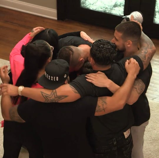"""The cast of MTV's """"Jersey Shore Family Vacation."""""""