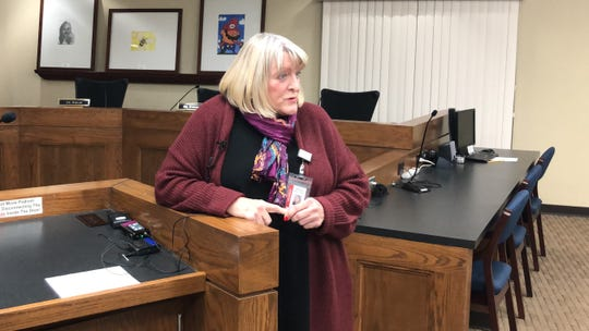 Linda Langston, the Abilene Independent School District's director of health services, speaks Thursday about the district monitoring the coronavirus COVID-19 and plans of attack should it eventually make its way into Abilene and the Big Country.
