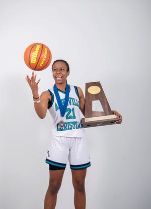 Nahndi Smith is a junior on the state champion Asheville Christian Academy girl's basketball team.