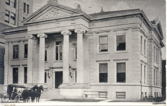 The Broome County Public Library as it looked in 1915.
