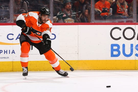 Shayne Gostisbehere survived the NHL trade deadline on Monday and feels good with his left knee after testing it in a conditioning assignment with the Lehigh Valley Phantoms.