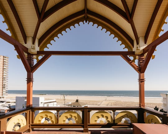 The view from atop Lucy the Elephant is just one of the amenities touted by Airbnb, which is listing the property as a rental for three March dates.