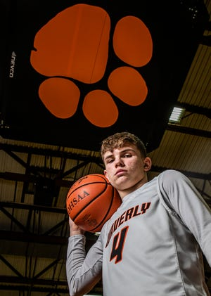 With his dad being the head coach, Waverly's Trey Robertson has grown up in the Tiger program. That has ultimately resulted in him becoming a star.