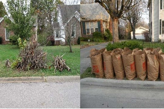 Cleanup do's: During the annual Spring Cleanup, the Clarksville Street Department will pick up smaller limbs, left, and clippings and leaves placed in biodegradable bags or boxes.
