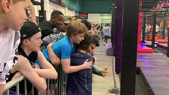 "Supported by friends from the ninja community, Charlie Ball of Whitehouse Station has been competing since 2018. Charlie can be seen on the second season of ""American Ninja Warrior Junior."" The show premiered Feb. 22 and Charlie's episode airs on March 27 on UniversalKids."