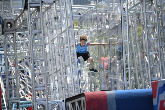 "Flying across a course filled with ""Spider Walls"" and ""Double Tilt Ladders,"" Charlie Ball of Whitehouse Station can be seen on the second season of ""American Ninja Warrior Junior."" The show premiered Feb. 22 and Charlie's episode airs on March 27 on UniversalKids."