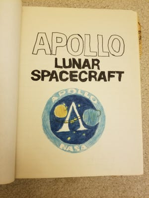 """""""I found that I had written a report on Apollo 11 in June 1969 – right at the end of 5th grade, a little more than a month before the launch of Apollo 11,"""" said Bob Taenaka."""