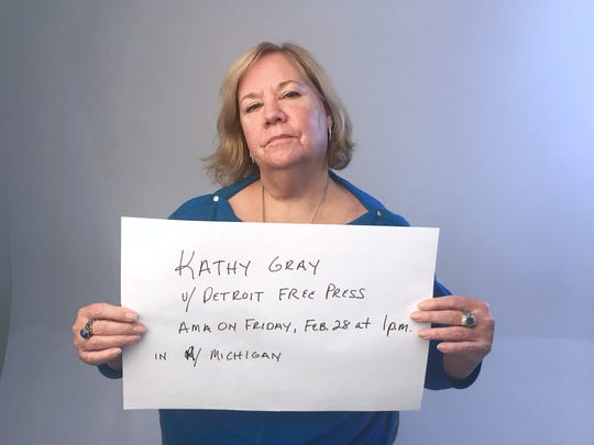 Detroit Free Press reporter Kathy Gray is hosting a Reddit AMA at 1 p.m. Feb. 28 on all things Michigan, politics and Election 2020.