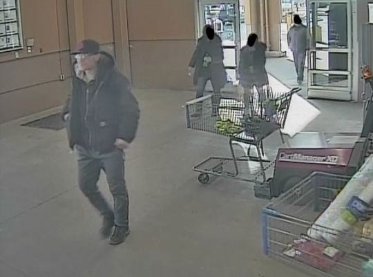 Utica police said the are looking for a man who stole $300 in liquor and lobster from a retailer on Feb. 19, 2020.