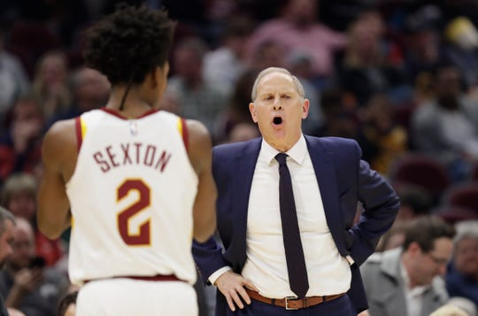 John Beilein's only season as the Cleveland Cavaliers' head coach lasted 54 games.