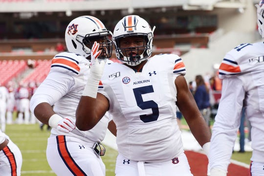 Auburn defensive end Derrick Brown could be an option for the Lions at No. 3 in the NFL Draft.