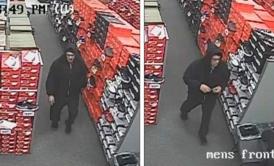 Police released surveillance images of the suspect on Wednesday.