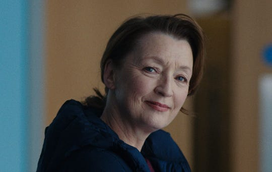 """Lesley Manville in """"Ordinary Love."""""""