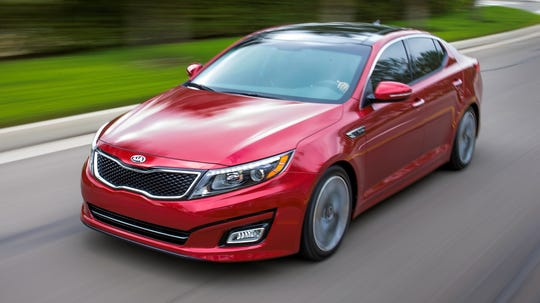 Kia is recalling nearly 142,000 2013 and 2014 Optima midsize cars. They have 2.4-liter direct fuel injection or 2-liter direct injection turbocharged engines.