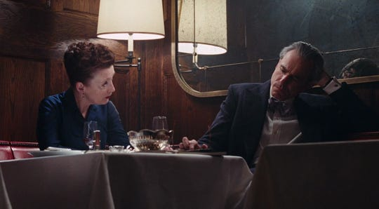 """Lesley Manville and Daniel Day Lewis in """"Phantom Thread."""""""