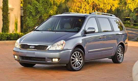 Kia is recalling 51,000 2011 and 2012 Sedona minivans. The fuel injector rail can crack from exposure to heat, causing a gas leak.