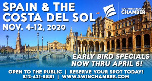 Find out more about the Southwest Indiana Chamber's next trip.