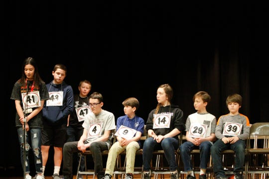 Over 60 students from 26 schools took the stage to compete in the annual Cascade County Spelling Bee at West Elementary School on Thursday, Feb. 27, 2020.