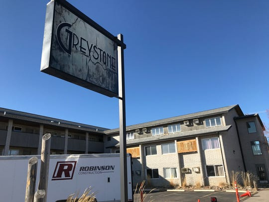 "A massive"" remodel of the Greystone Inn on Central Avenue will begin this spring. ""You see alot of older hotels in downtown corridors that are just kind of forgotten,"" new owner Ty Rollins said."