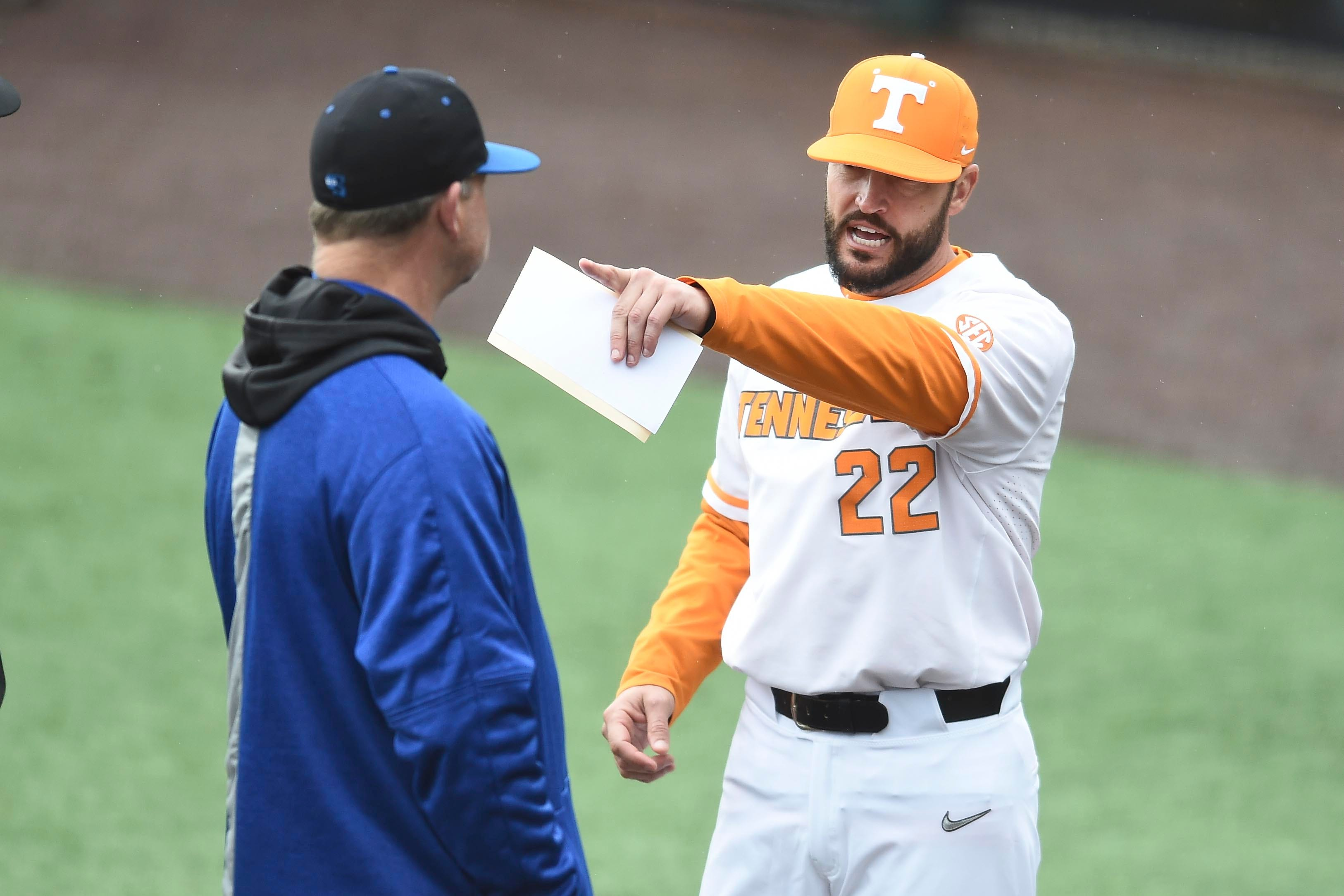 Tennessee Vols baseball hosts UNC Asheville