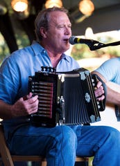 Ray Abshire, well-known Cajun musician, plays accordion in this undated file photo.