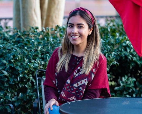 Dulce Perez, 28, teaches first-grade Spanish immersion at Alice Boucher Elementary, where her sister also teaches. The two are from Matamoros, Mexico.