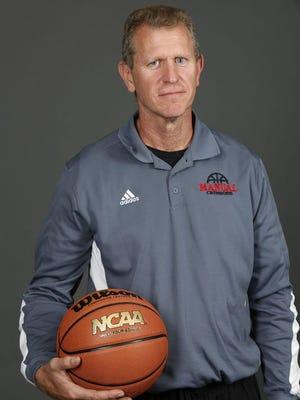 Manual boys basketball coach Jimmy Just
