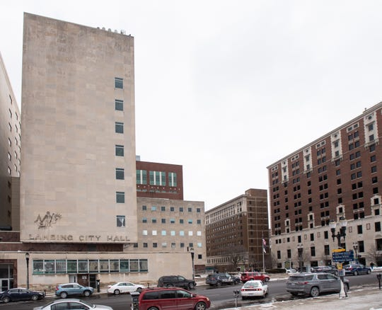 Lansing City Hall pictured Thursday, Feb. 27, 2020.
