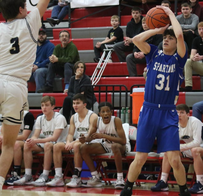 St. Peter's Gavin Foltz returns as one of the more experienced players for the Spartans in 2020-21.