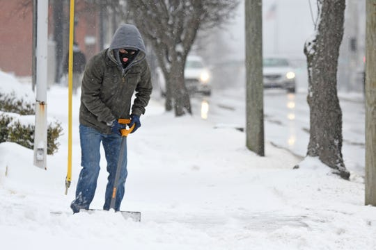 Mansfield and Richland County residents had to dig out again Thursday morning after heavy snowfall overnight.