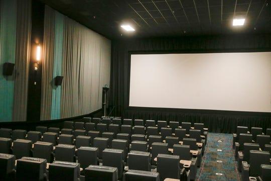 A movie theater at Cinergy Tulsa on Thursday, April 4, 2019. IAN MAULE/Tulsa World