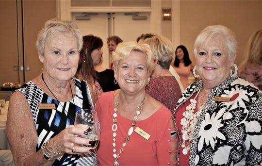 Marilyn Mroz, Jan Zilch and Joanne Chute