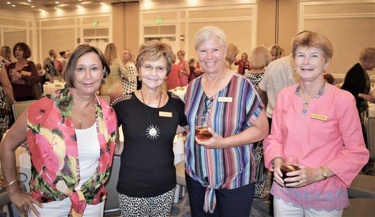 Kerri Hynes, June Elliott, Jane Konkoly and Mary O'Neill