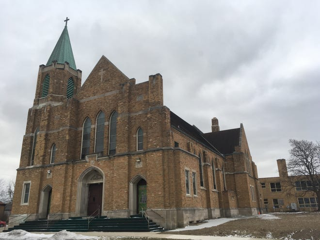 A former Cudahy church at 3775 E. Underwood Ave.will be renovated to become the Dresden Castle on Underwood,an event space inboth in the sanctuary and basement area. The attached school is set to become apartments with some commercial space that could become a small grocery store.