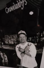 Chef Jonathan Klug is shown at the original Crawdaddy's on 64th and Greenfield in West Allis in this 1996 photo.