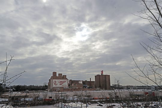 The Molson Coors brewery in Miller Valley in Milwaukee on Thursday, Feb. 27, 2020.