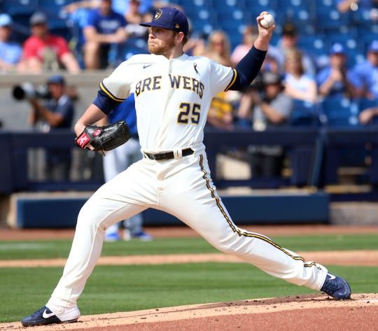 Camp report: Brewers pitchers blown out by Rangers