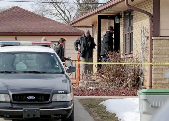 Investigators were at the home of Anthony N. Ferrill, 51, the Molson Coors shooter, in the 8200 block of West Potomac Avenue in Milwaukee.