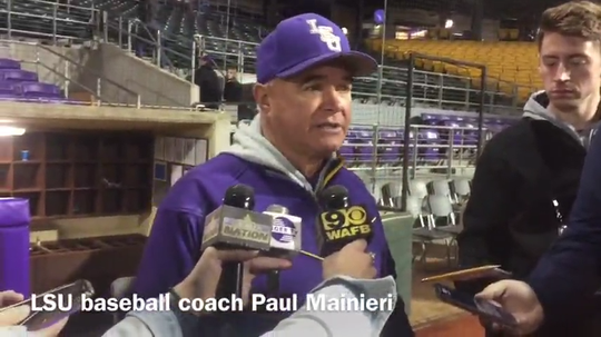 LSU head baseball coach Paul Mainieri breaks down his team's offensive performance in the win over Louisiana Tech Wednesday night at Alex Box Stadium.