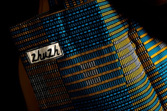 A detail of Keesha Morisma's Zhuzh bag is pictured, Wednesday, Feb. 26, 2020, in Naples.