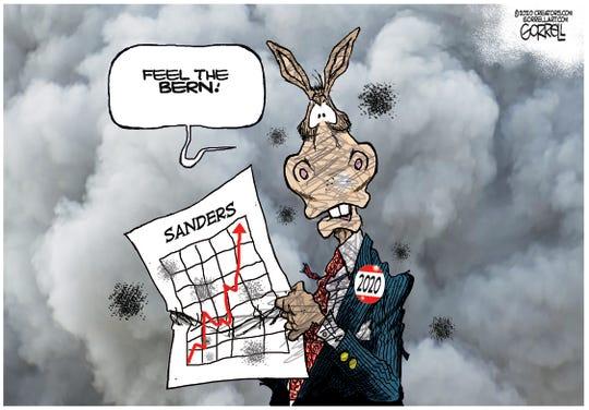 Democrats feel the Bern.