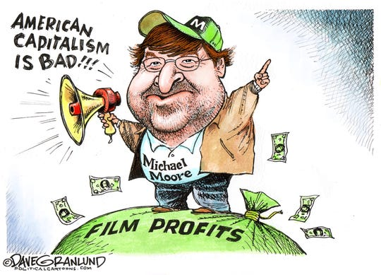Michael Moore on capitalism.