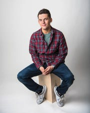 Kevan Kenney is a Ho-Ho-Kus native and the host of the TRL reboot on MTV. Kenney poses for photos in the Woodland Park studio on Wednesday February 5, 2020.