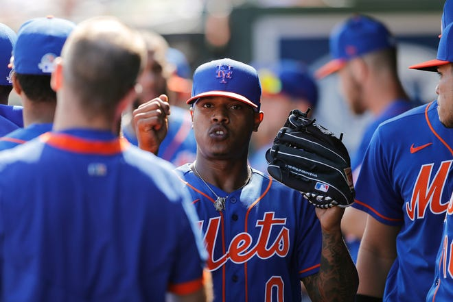 Marcus Stromen is returning to the Mets on a one-year, $18.9M qualifying offer. MICHAEL REAVES/GETTY IMAGES