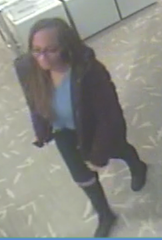 Glen Rock police are on the look-out for this woman, who they suspect used stolen credit information to purchase $1,445 worth of UGG boots.
