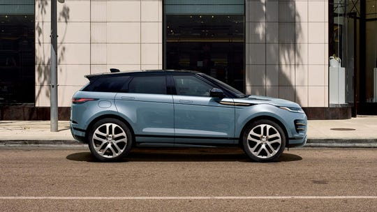 Though the 2020 Range Rover Evoque is a small, though not so tall, crossover SUV, it handles more like a sport sedan on twisting roads.