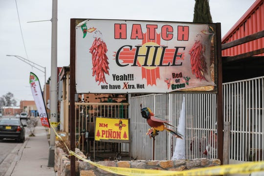 Hatch Chile Sales, at 265 W. Hall St. in Hatch, sold red and green chile. The business burned down Jan. 18, 2020.