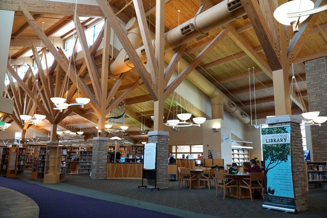 The Milford Public Library at 330 Family Drive.