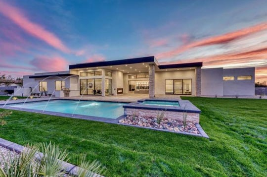 Nick Schmaltz paid $2.95 million for a new construction estate in Phoenix.